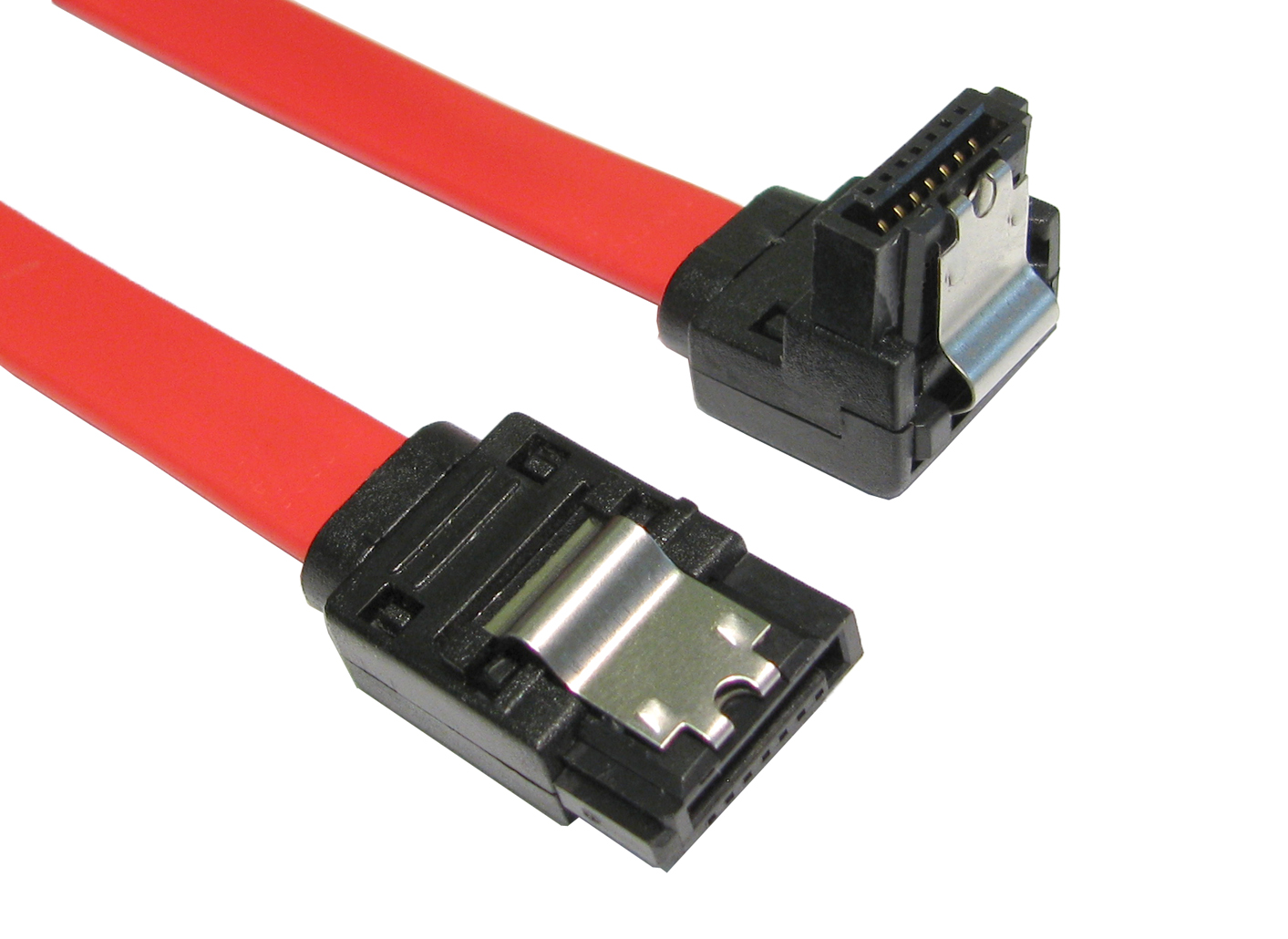 SATA Data Cable 7pin/7pin with latch