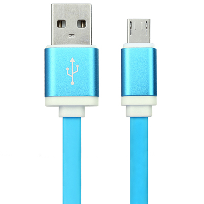 Metal housing Flat Micro usb cable
