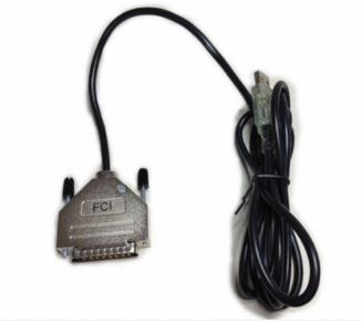 FTDI USB DB-25 Male Serial RS-232 ST Adapter Cable