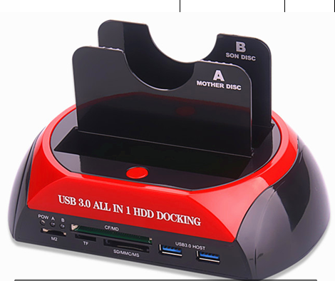 USB 3.0 ALL IN 1 HDD Docking 02